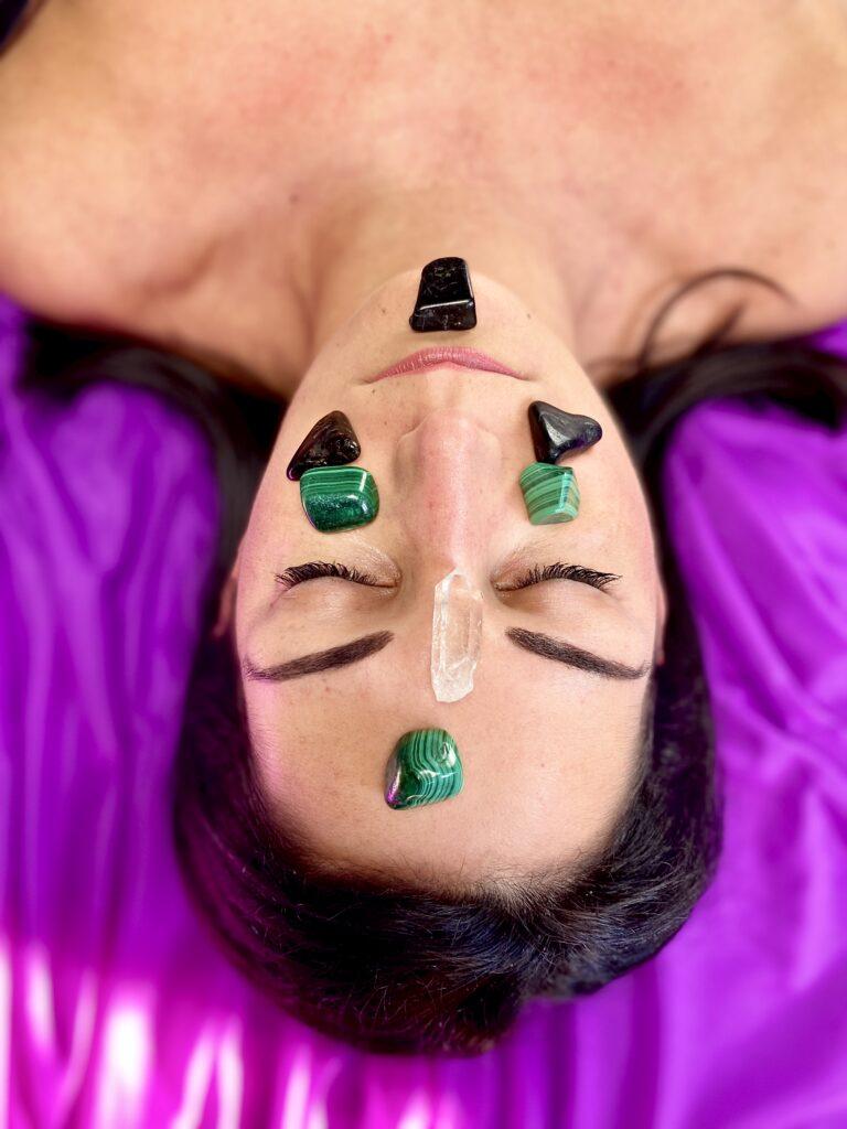 griglia cristalli detox